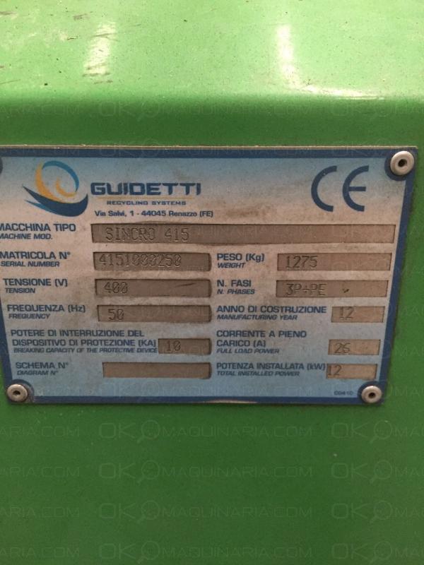 Granulador Guidetti 1